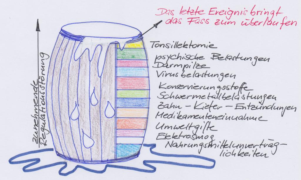 ganzheitliche Zahnheilkunde Dr. Heike Kretschmar - Dekompensation des Grundsystems